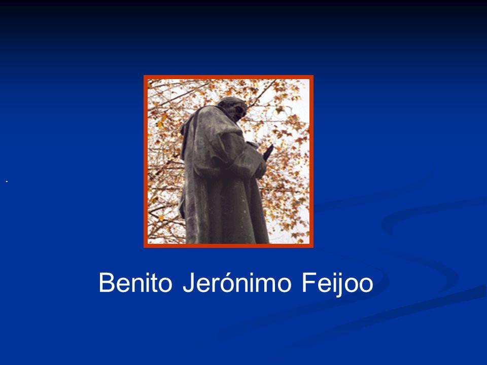 . Benito Jerónimo Feijoo