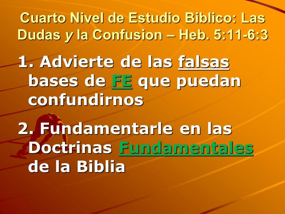 Tercer nivel: Enfatiza los medios de victoria 4. Medita en promesas bíblicas a los obedientes y de los castigos por no obedecer 5. Acepta el CASTIGO c