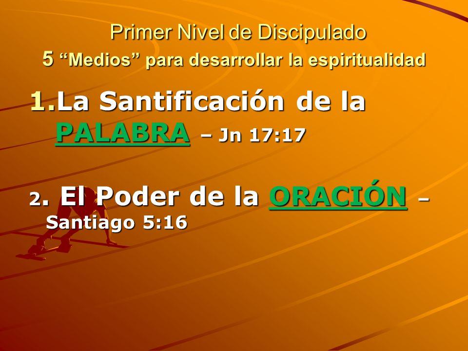 Primer Nivel de Estudio Biblico: La Seguridad de la Salvacion Eterna a.La Seguridad de Salvacion ETERNA b.Las EVIDENCIAS la nueva vida a.PROMESAS para