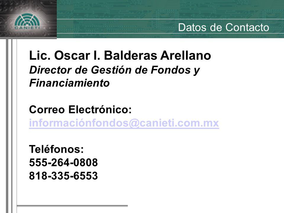 Lic. Oscar I.