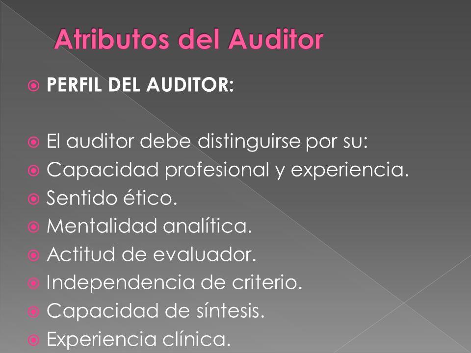 Entrenamiento técnico y capacidad profesional. Independencia. Debido cuidado profesional. Confidencialidad.