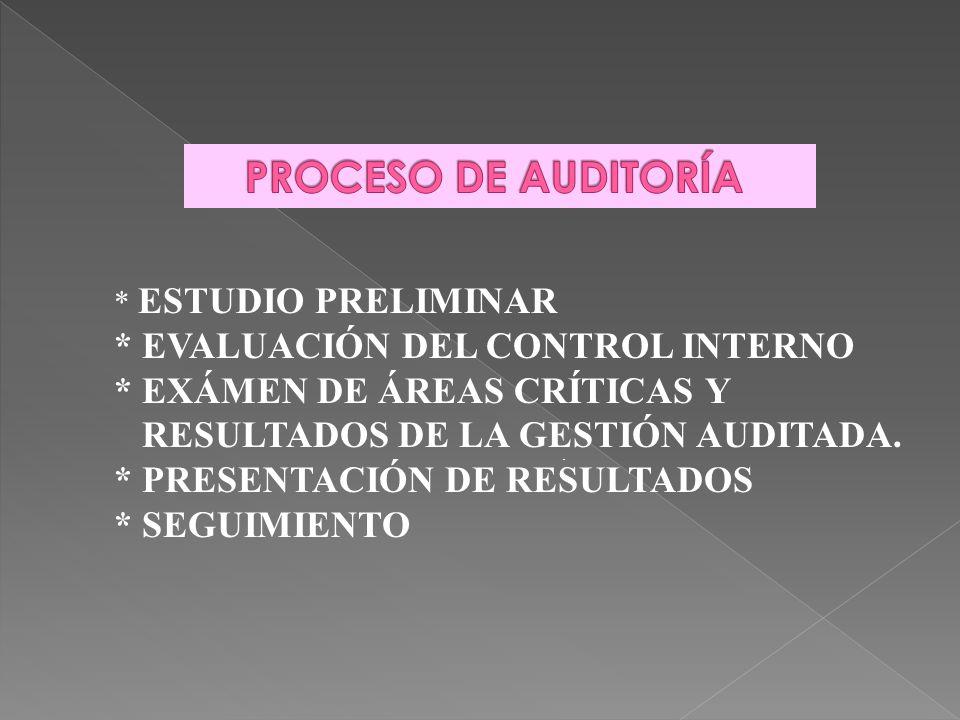 . 1. ESTUDIO PRELIMINAR Y PROGRAMACIÓN 2. DETERMINACIÓN DE ÁREAS CRÍTICAS 3. PRESENTACIÓN DE RESULTADOS PRODUCTOS * INFORMACIÓN GENERAL DE LA ORGANIZA