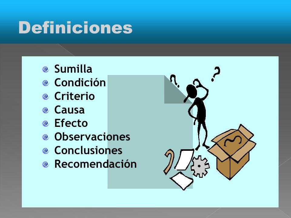 Auditoría en Salud Auditoría Médica Auditoría de Caso Auditoría de Oficio Auditoría Interna Auditoría Externa Definiciones
