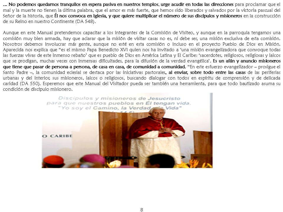 19 Capítulo IV ENCUENTRO DE CAPACITACION Para quienes participarán en el PRIMER VISITEO.