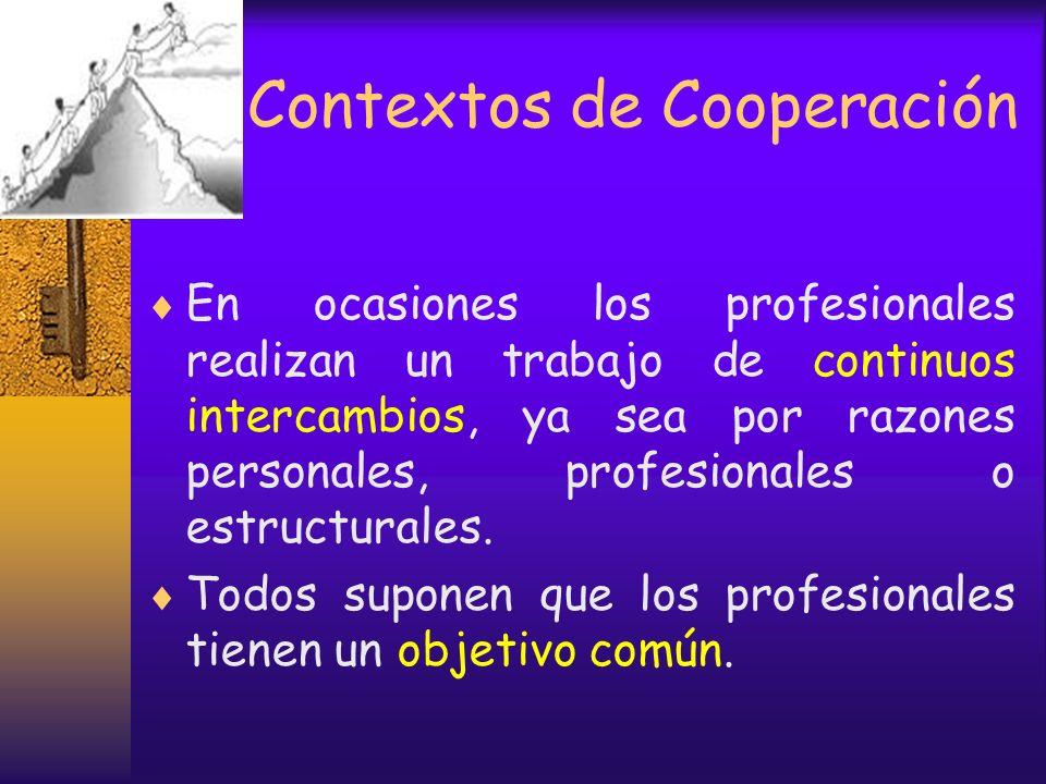 Metacontextos profesionales Profesionales que trabajan en metacontextos informativos, privados: Acepta a personas en condiciones que fija desde el ini