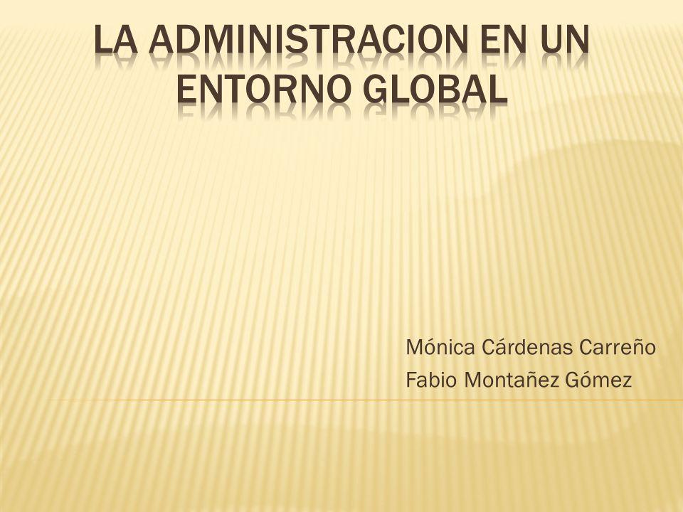 Mónica Cárdenas Carreño Fabio Montañez Gómez