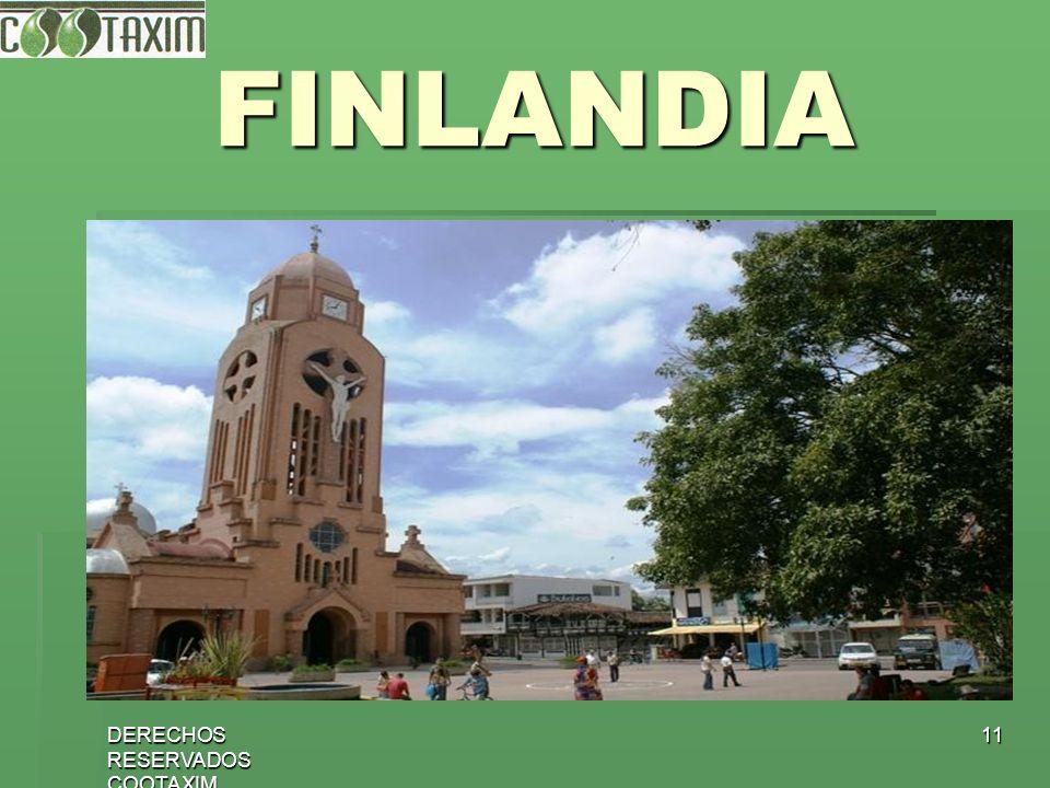 DERECHOS RESERVADOS COOTAXIM 11 FINLANDIA