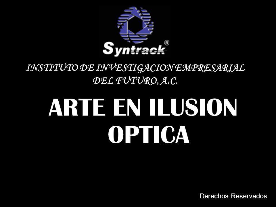 ARTE EN ILUSION OPTICA INSTITUTO DE INVESTIGACION EMPRESARIAL DEL FUTURO, A.C. Derechos Reservados