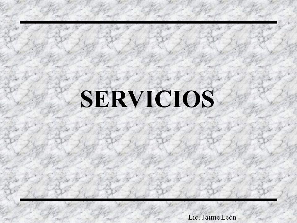 SERVICIOS Lic. Jaime León