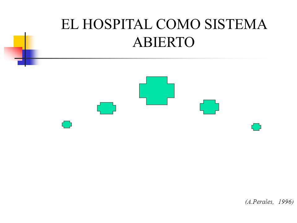 EL HOSPITAL COMO SISTEMA ABIERTO (A.Perales, 1996)