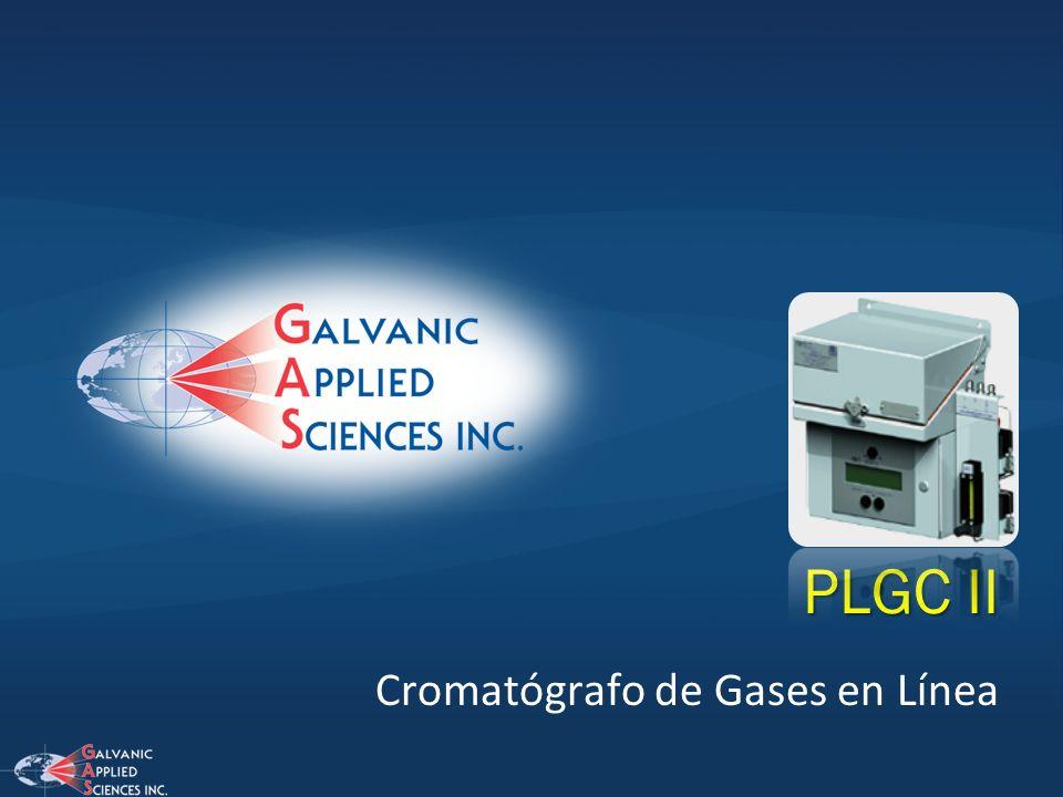 Cromatógrafo de Gases en Línea PLGC II