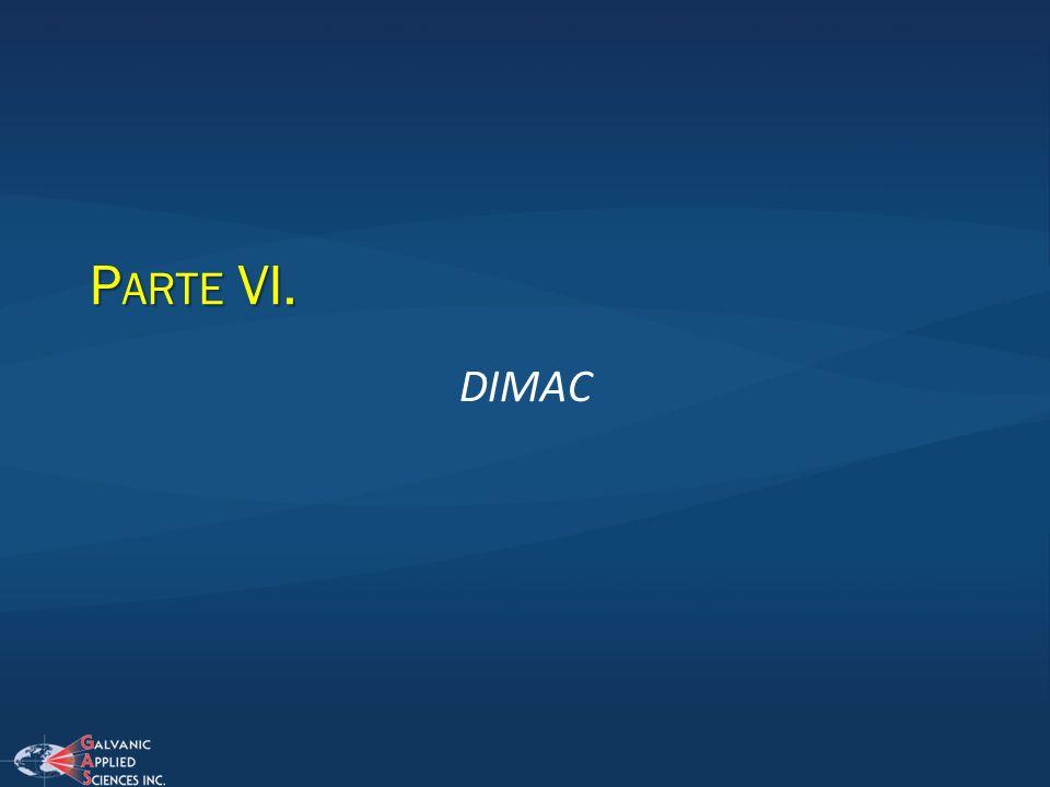 P ARTE VI. DIMAC
