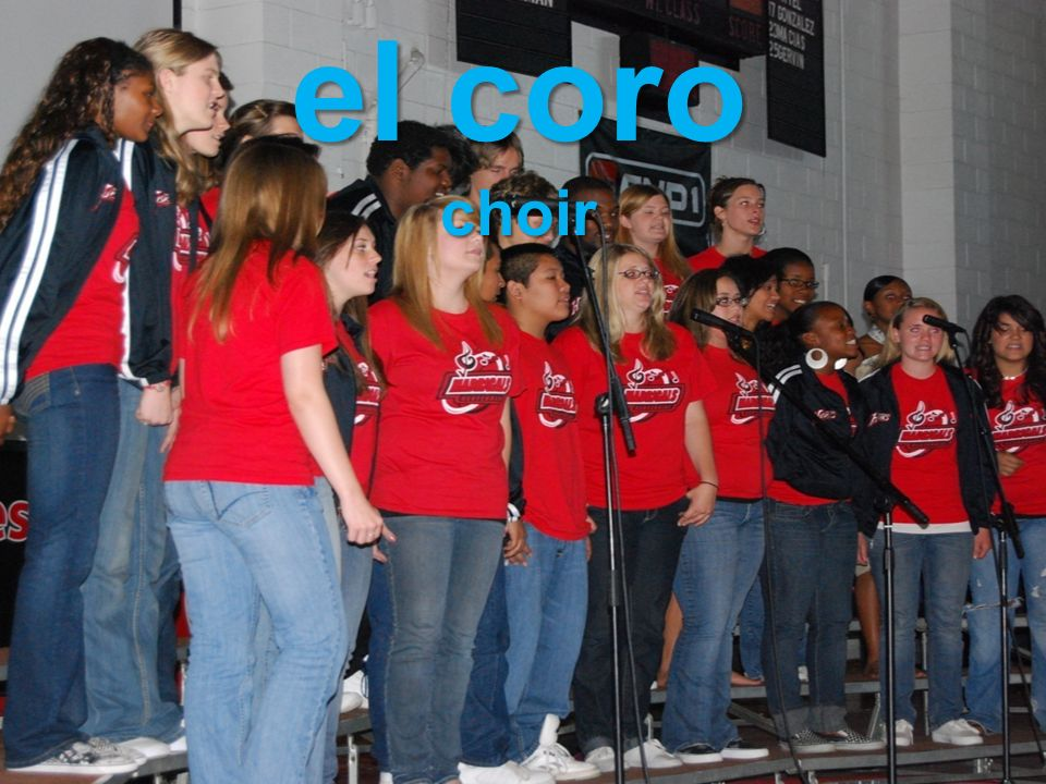 el coro choir