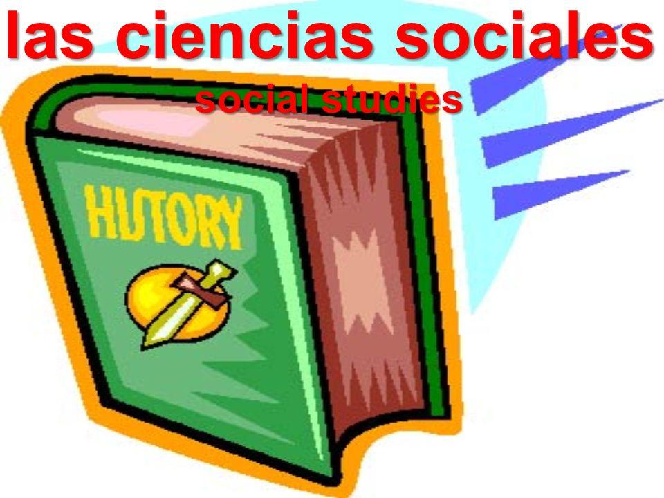 las ciencias sociales social studies