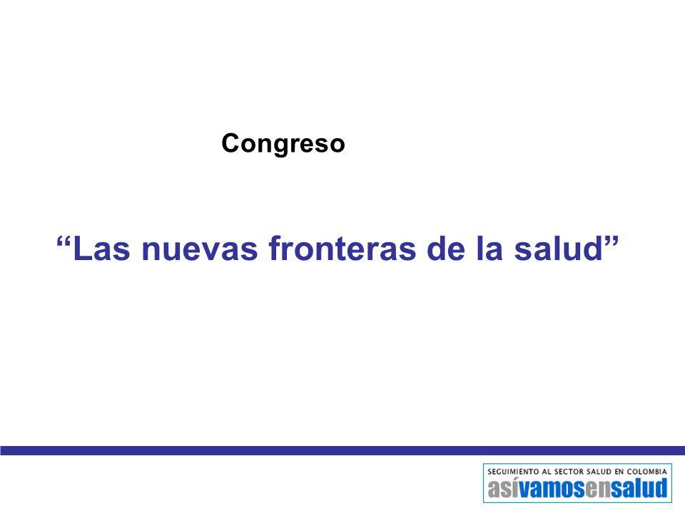 Las nuevas fronteras de la salud Congreso