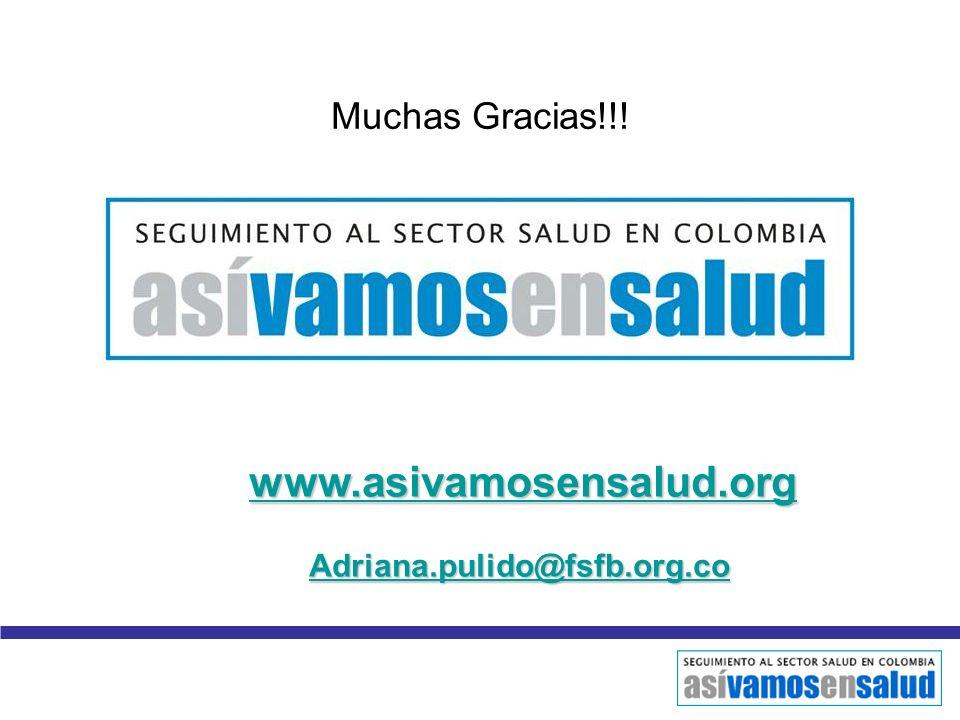 www.asivamosensalud.org Adriana.pulido@fsfb.org.co Muchas Gracias!!!