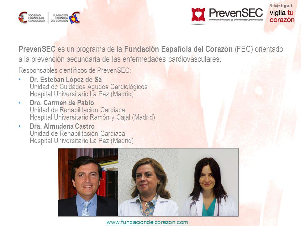 www.fundaciondelcorazon.com 423 pacientes con IAM Inicio: al alta H.