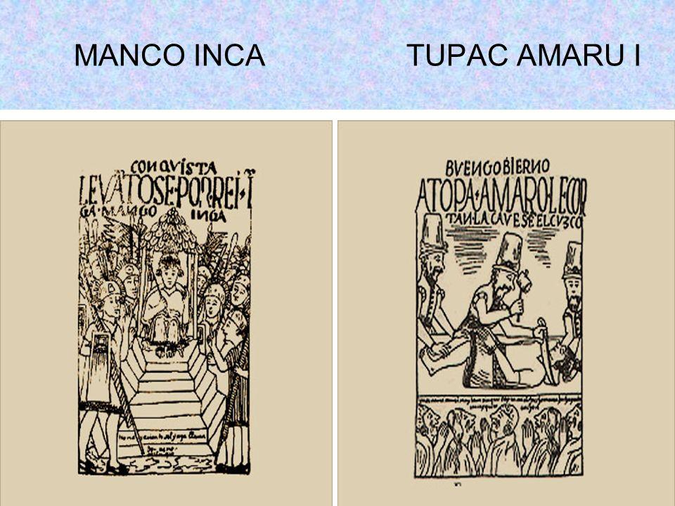 MANCO INCA TUPAC AMARU I