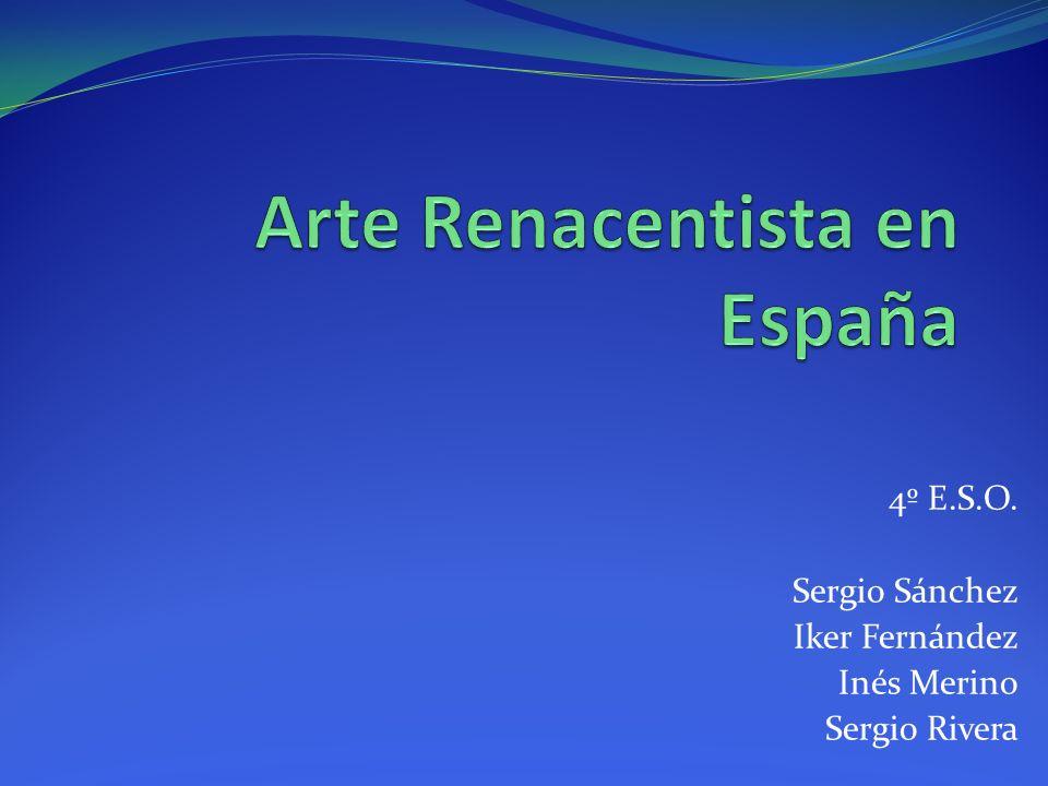 a)Estilo Plateresco Se desarrolló en España durante el primer tercio del siglo XVI.