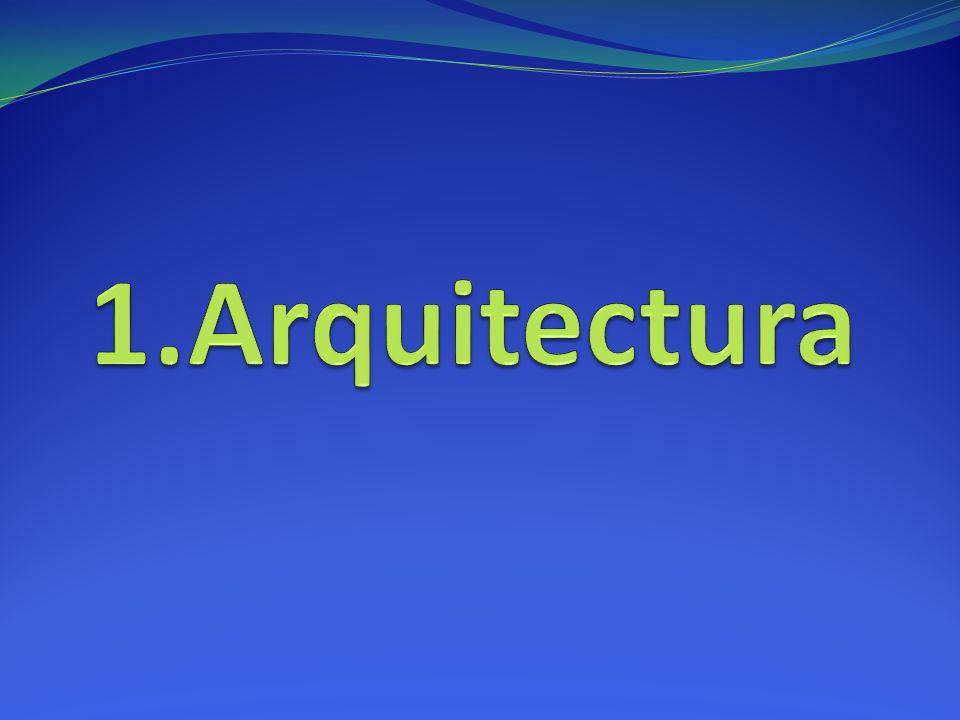 Índice 1-Arquitectura 1.1. Introducción 1.2. Rasgos generales en España 1.3.Obras a)S. XVI b)S. XVII 1.4. Etapas a)Etilo Plateresco b)Purismo c)Estilo