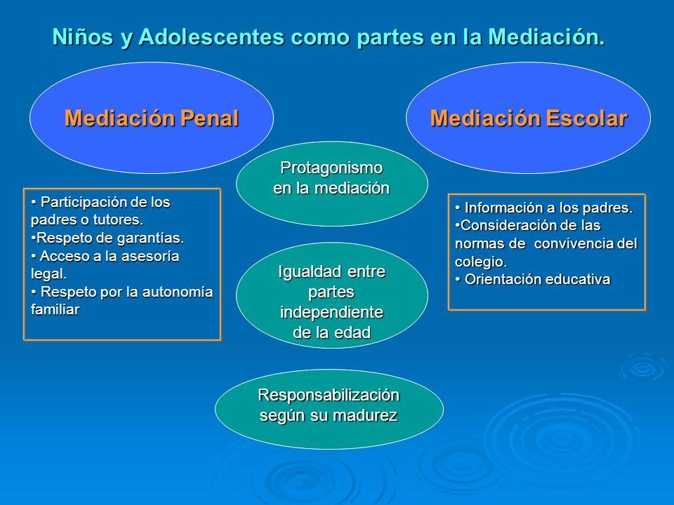 Marcela Fernández S. Factores a Considerar en la Participación de la infancia en la Mediación Nivel de participación en el conflicto Nivel de particip