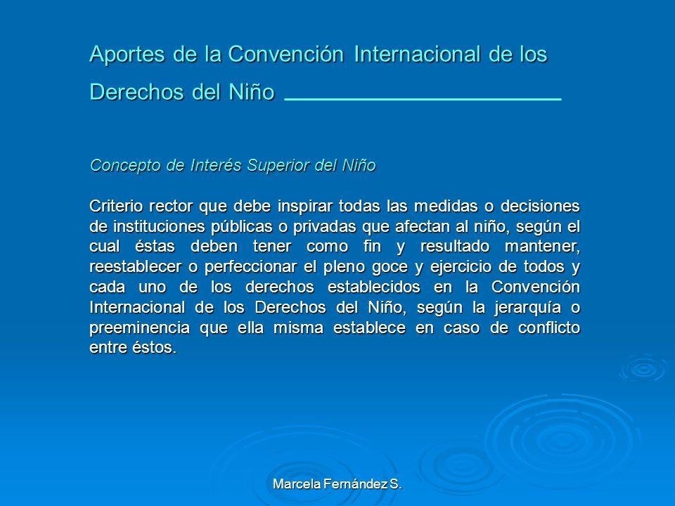 Marcela Fernández S. Ciudadanía de la Infancia Recepción de la Convención de los Derechos del Niño en el Código Civil y en la Ley de Tribunales de Fam