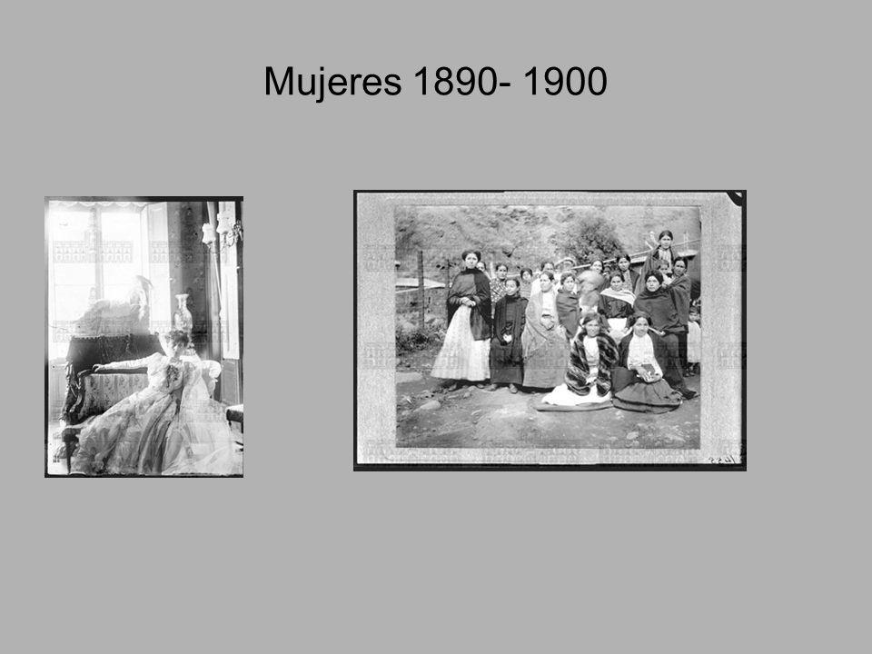 Mujeres 1890- 1900