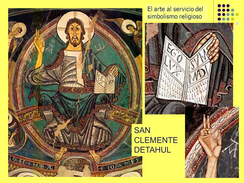SAN CLEMENTE DETAHUL El arte al servicio del simbolismo religioso