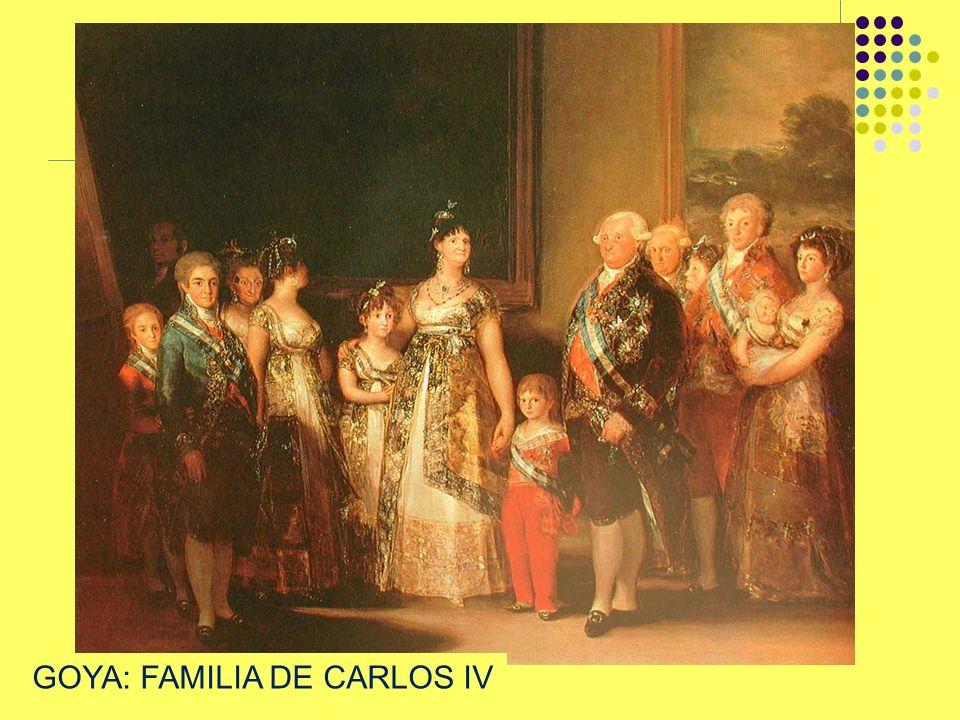 GOYA: FAMILIA DE CARLOS IV