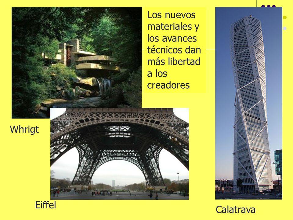 Los nuevos materiales y los avances técnicos dan más libertad a los creadores Calatrava Eiffel Whrigt