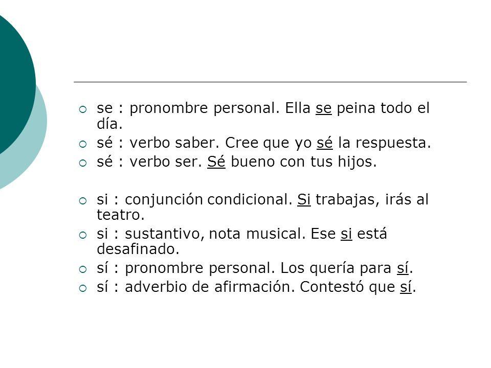 de : preposición.Ciudad de México. dé : verbo. Necesitas que te dé una explicación.