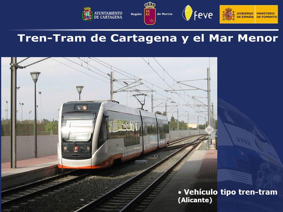 Vehículo tipo tren-tram (Alicante)