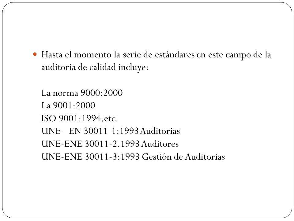 PLAN DE AUDITORIA VDO-SGC- 10010 OBJETO DE AUDITORIA: Auditoria del sistema de Gestión de calidad para determinar el cumplimiento y objetivos de la NORMA UNE-EN ISO 9001:2000 EMPRESA: ABC, S.