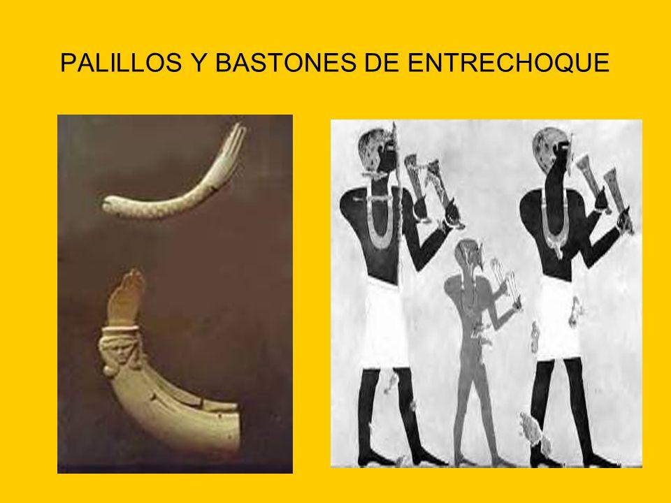 PALILLOS Y BASTONES DE ENTRECHOQUE