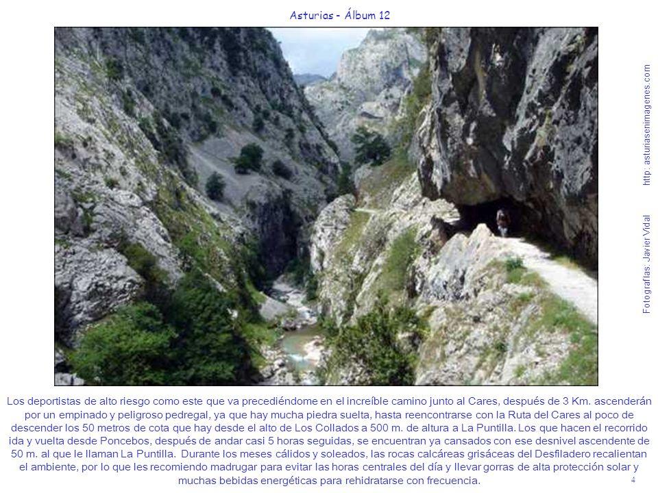 4 Asturias - Álbum 12 Fotografías: Javier Vidal http: asturiasenimagenes.com Los deportistas de alto riesgo como este que va precediéndome en el incre