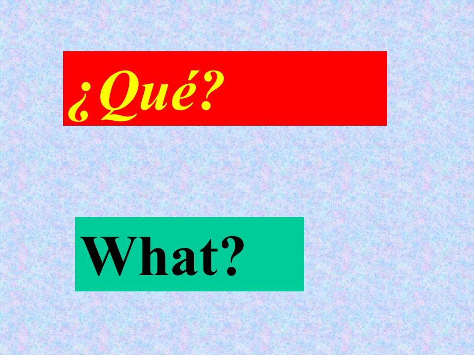 Which? Cuál?