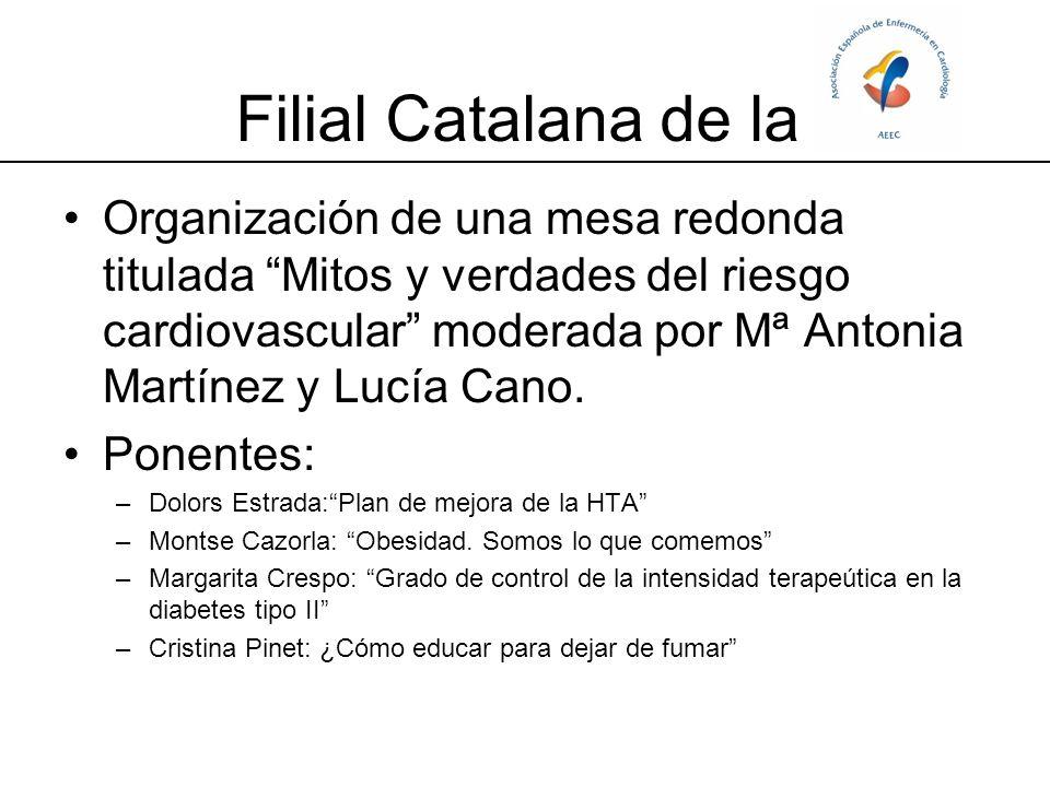 Se presentaron 7 comunicaciones científicas, moderadas por Lluïsa Garcia y Laura Ollé.