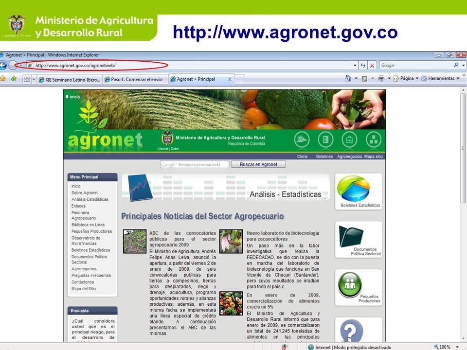 http://www.agronet.gov.co
