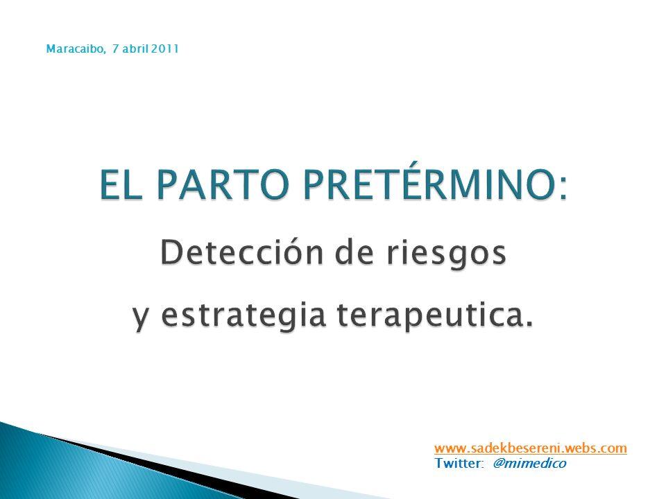 www.sadekbesereni.webs.com Twitter: @mimedico Maracaibo, 7 abril 2011