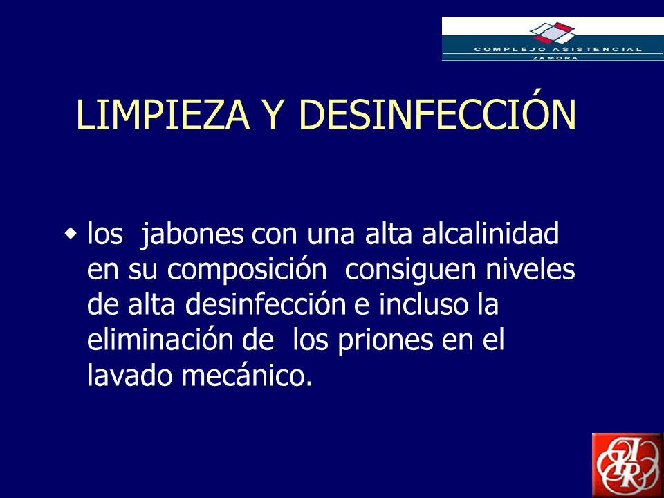 Inserte aquí el logo de su Empresa LIMPIEZA Y DESINFECCIÓN los jabones con una alta alcalinidad en su composición consiguen niveles de alta desinfecci