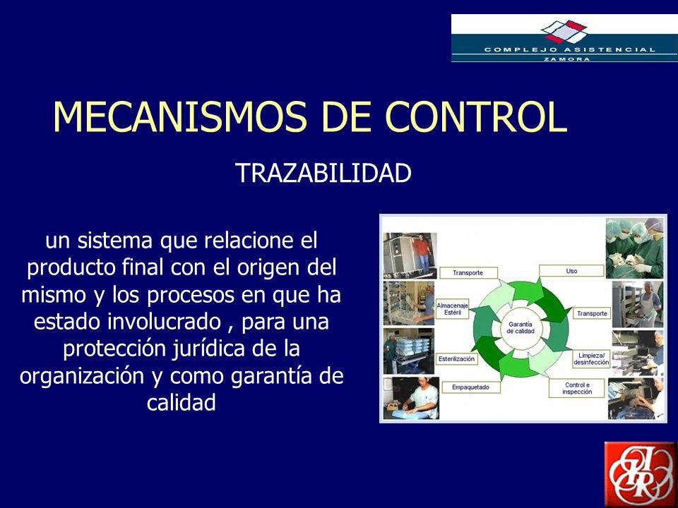 Inserte aquí el logo de su Empresa MECANISMOS DE CONTROL TRAZABILIDAD un sistema que relacione el producto final con el origen del mismo y los proceso
