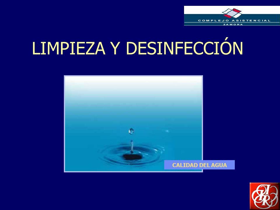 Inserte aquí el logo de su Empresa LIMPIEZA Y DESINFECCIÓN CALIDAD DEL AGUA