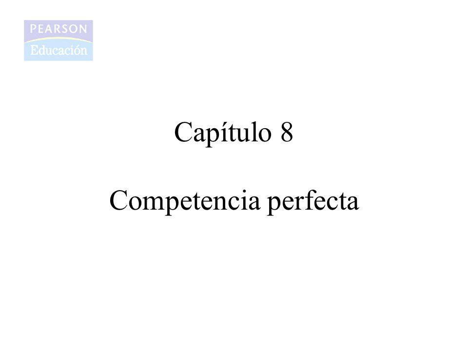 Capítulo 8 Competencia perfecta