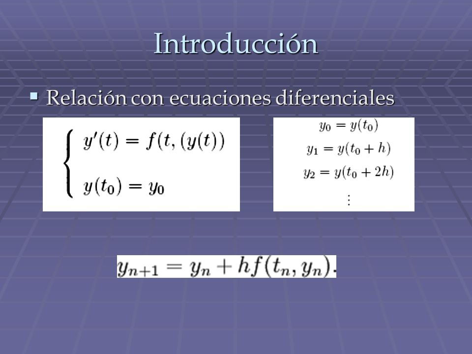 Puntos fijos del sistema de ecuaciones diferenciales Podemos afirmar que el sistema discreto conserva las propiedades cualitativas y cuantitativas de los puntos fijos.