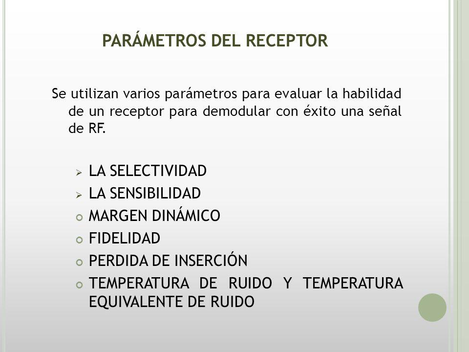 RECEPTORES DE AM Hay dos tipos básicos de receptores de radio: UN RECEPTOR COHERENTE O SINCRÓNICO RECEPTORES NO COHERENTES O ASÍNCRONOS