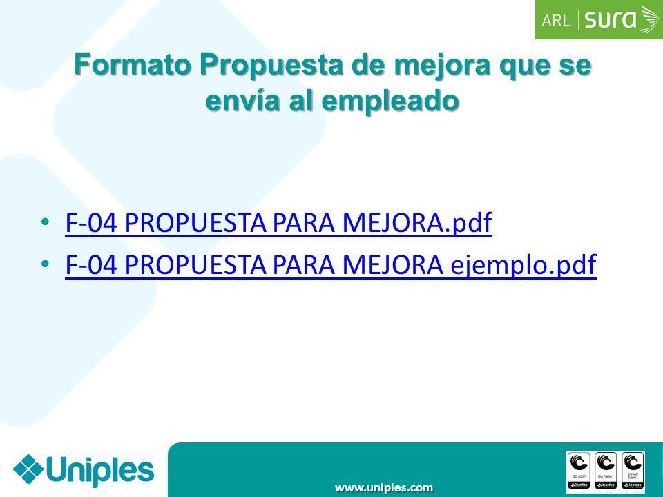 www.uniples.com PUESTOS DE TRABAJO