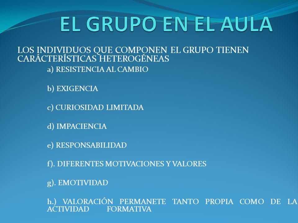 LOS FACTORES COMUNICACIONALES SON ESENCIALES EN EL MANEJO DEL AULA - Comunicación en grupo (expectación con historias, datos, aprovechando los silencios).