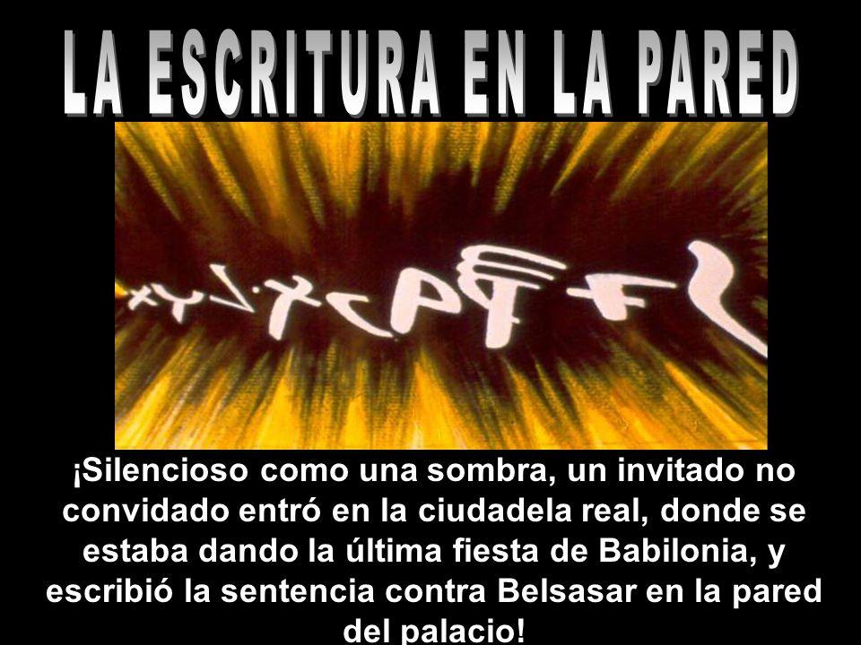 23 Seminario de las Profecías de Daniel REPASO (V/F) 2) Una mano sobrenatural escribió en la pared del palacio Belsasar, para anunciarle el fin del reino de Babilonia.