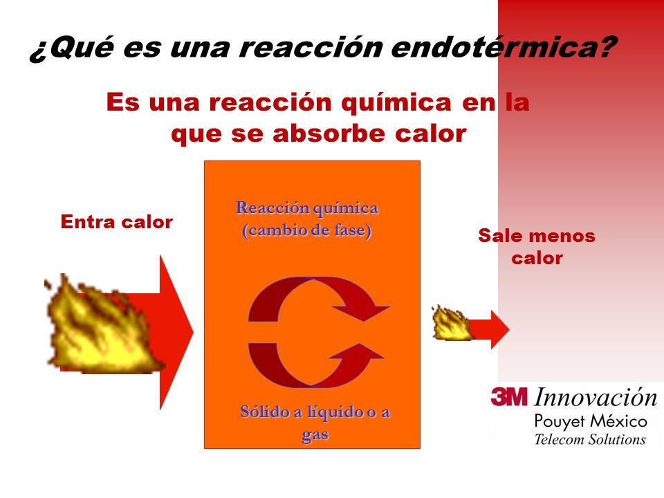 ¿Qué es una reacción endotérmica.
