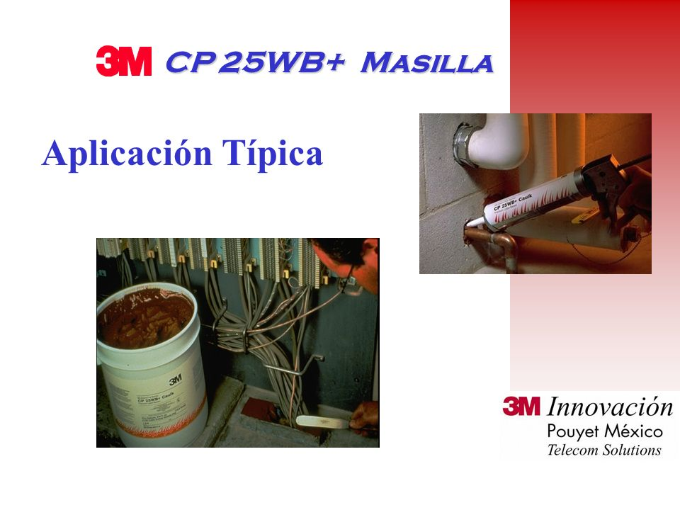 PRODUCTOS CP 25WB+ Masilla Masilla Moldeable (Moldable Putty) Mortero CS 195+ Lámina compuesta Fire Dam Spray Fire Master Duct Wrap Interam Ultra GS F